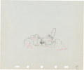 Animation Art:Production Drawing, Little Hiawatha Production Drawing Animation Art (WaltDisney, 1937)....