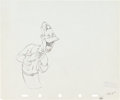 Animation Art:Production Drawing, Mother Goose Goes Hollywood Joe E. Brown and Martha RayeProduction Drawing Animation Art Group (Walt Disney, 1938)....(Total: 2 Original Art)