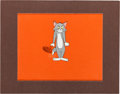Animation Art:Production Cel, Tom and Jerry Tom Production Cel Set-Up Animation Art (MGM,c. 1950s)....