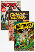 Golden Age (1938-1955):Science Fiction, Comic Books - Assorted Golden Age Science Fiction/Horror Comics Group (Various Publishers, 1950s) Condition: Average FN.... (Total: 4 Comic Books)
