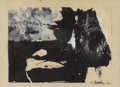 Texas:Early Texas Art - Modernists, JAMES BROOKS (1906-1992). Untitled Collage on Paper, 1962. Gouacheon paper. 11.25in. x 15.5in.. Signed and dated lower righ...