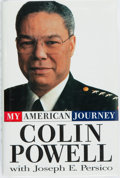Books:Biography & Memoir, Colin Powell and Joseph E. Persico. SIGNED BOOKPLATE. MyAmerican Journey. New York: Random House, [1995]. First edi...