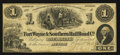 Obsoletes By State:Indiana, Muncie, IN - Fort Wayne & Southern Rail Road Co. $1 Oct. 2, 1854. ...