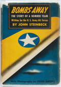 Books:Americana & American History, John Steinbeck. Bombs Away: The Story of a Bomber Team. NewYork: Viking Press, 1942. First edition, first printing....