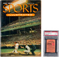 Baseball Collectibles:Publications, 1954 Sports Illustrated First Issue with Ticket Stub from CoverGame. ...