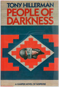 Books:Mystery & Detective Fiction, Tony Hillerman. People of Darkness. New York: Harper andRow, 1980. First edition. Review copy with slip laid in. Oc...