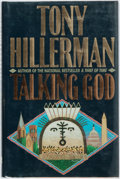 Books:Mystery & Detective Fiction, Tony Hillerman. INSCRIBED. Talking God. New York: Harper andRow, 1989. First edition. Briefly inscribed by the auth...