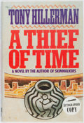 Books:Mystery & Detective Fiction, Tony Hillerman. SIGNED. A Thief of Time. New York: Harperand Row, 1988. First edition. Briefly inscribed. Octavo. P...