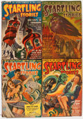 Pulps:Science Fiction, Startling Stories Box Lot (Standard, 1940-54) Condition: AverageVG....