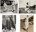 Autographs:Photos, 1940-54 Ted Williams Signed Photographs Lot of 4....