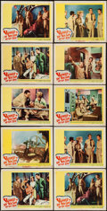 """Movie Posters:Adventure, Voyage to the Bottom of the Sea (20th Century Fox, 1961). Lobby Cards (10) (11"""" X 14""""). Adventure.. ... (Total: 10 Items)"""