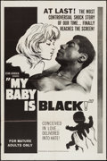 "Movie Posters:Exploitation, My Baby is Black (American Film Distributing, 1965). One Sheet (27""X 41""). Exploitation.. ..."