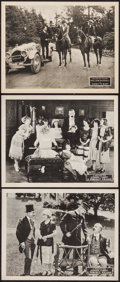 "Movie Posters:Comedy, A Perfect Villain & Other Lot (Fox, 1921). Lobby Cards (3) (11"" X 14""). Comedy.. ... (Total: 3 Items)"
