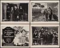 "The Spanish Jade (Paramount, 1922). Title Lobby Card & Lobby Cards (3) (11"" X 14""). Drama. ... (Total: 4 I..."
