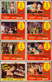 "The Merry Widow (MGM, 1952). Lobby Card Set of 8 (11"" X 14""). Musical. ... (Total: 8 Items)"
