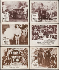 "Mysterious Island (Columbia, 1951). Title Lobby Cards (2) & Lobby Cards (4) (11"" X 14"") Chapter 9 --&q..."