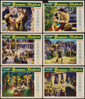 "Movie Posters:Adventure, Samson and Delilah (Paramount, 1949). Lobby Cards (6) (11"" X 14"").Adventure.. ... (Total: 6 Items)"