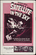 """Movie Posters:Science Fiction, Satellite in the Sky (Warner Brothers, 1956). One Sheet (27"""" X 41"""")& Lobby Cards (2) (11"""" X 14""""). Science Fiction.. ... (Total: 3Items)"""