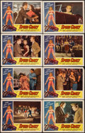 """Movie Posters:Exploitation, Speed Crazy (Allied Artists, 1959). Lobby Card Set of 8 (11"""" X14""""). Exploitation.. ... (Total: 8 Items)"""