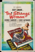 """Movie Posters:Film Noir, The Strange Woman & Other Lot (United Artists, 1946). One Sheets (2) (27"""" X 41""""). Film Noir.. ... (Total: 2 Items)"""