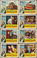 """Movie Posters:Thriller, Second Chance (RKO, 1953). Lobby Card Set of 8 (11"""" X 14"""") 3-D Style. Thriller.. ... (Total: 8 Items)"""