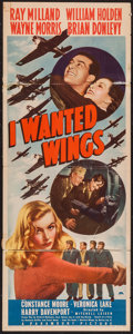 "Movie Posters:War, I Wanted Wings (Paramount, 1941). Insert (14"" X 36""). War.. ..."