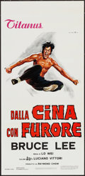 """Movie Posters:Action, The Chinese Connection (Titanus, 1973). Italian Locandina (13"""" X 27.5""""). Action.. ..."""