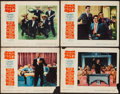 "Movie Posters:Rock and Roll, Mister Rock and Roll (Paramount, 1957). Lobby Cards (4) (11"" X14""). Rock and Roll.. ... (Total: 4 Items)"