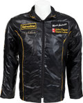 Transportation:Automobilia, Mario Andretti's JPS Team Jacket From 1977 John Player Team LotusRacing With LOA From Mario Andretti...