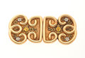 Estate Jewelry:Brooches - Pins, Antique Tri-Color Gold Brooch. ...