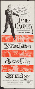 """Movie Posters:Musical, Yankee Doodle Dandy (Dominant, R-1957). Insert (14"""" X 36"""").Musical.. ..."""