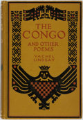 Books:Literature 1900-up, Vachel Lindsay. INSCRIBED. The Congo and Other Poems. NewYork: MacMillan, 1920. Later edition. Inscribed at front f...