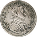 Italy:Piacenza, Italy: Piacenza. Odoardo Farnese Scudo 1628, Davenport 4128, XF40NGC, a nicely toned example of this attractive type....