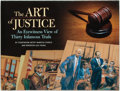 Books:Social Sciences, [Marilyn Church, Courtroom Artist]. Lou Young, Reporter. The Artof Justice: An Eyewitness View of Thirty Famous Trials....