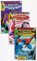 Modern Age (1980-Present):Superhero, The Amazing Spider-Man #196-217 Group (Marvel, 1979-81) Condition:Average VF+.... (Total: 23 Comic Books)