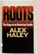 Books:Literature 1900-up, Alex Haley. Roots. Garden City: Doubleday, 1976. Firstedition. Octavo. Publisher's binding in dust jacket. Some edg...