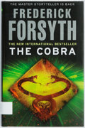 Books:Mystery & Detective Fiction, Frederick Forsyth. SIGNED. The Cobra. London: Bantam, 2010.First UK Edition. Signed at title page. Octavo. Publishe...