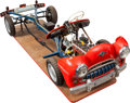 Transportation:Automobilia, Large Driving School Cutaway Model By VVR (VVR148), Germany...