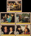 "Movie Posters:Drama, Mrs. Miniver (MGM, 1942). Lobby Cards (5) (11"" X 14""). Drama.. ...(Total: 5 Items)"