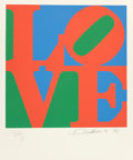 Prints:Contemporary, ROBERT INDIANA (American, b. 1928). The Book of Love: APortfolio of 12 Original Poems and 12 Original Prints (group of... (Total: 24 Items)