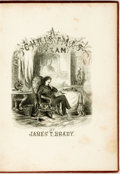 Books:Literature Pre-1900, James T. Brady. A Christmas Dream. Illustrated by Edward S.Hall. New York: C.A. Alvord, 1860. First edition. Twelve...