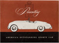 Transportation:Automobilia, 1953 Nash Healey Brochure - Presenting America's Outstanding Sports Car...