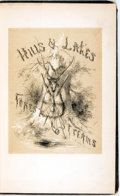 Books:Natural History Books & Prints, S.H. Hammond. Hills, Lakes, and Forest Streams: or, A Tramp in the Chateaugay Woods. New York: J.C. Derby, 1854. Fir...