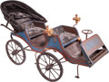 Transportation:Automobilia, Scratch Built Early Automobile Buggy...