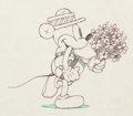 Animation Art:Production Drawing, Puppy Love Mickey Mouse Production Drawing (Walt Disney,1933)....