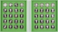 Books:Americana & American History, [Americana]. Set of Franklin Mint First Ladies CommemorativeMedals. Beginning with Martha Washington and ending with Pat Ni...