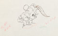 Animation Art:Production Drawing, The Brave Little Tailor Mickey Mouse Production Drawing(Walt Disney, 1938)....