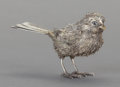 Silver Smalls:Other , AN ITALIAN SILVER BIRD, Buccellati, Milan, Italy, 20th century.Marks: 925, BUCCELLATI (effaced). 2-1/2 inches high (6.4...