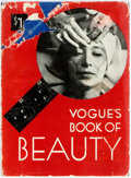 Books:Americana & American History, [Fashion]. Vogue's Book of Beauty. New York: Conde Nast,1933. Early printing. Publisher's blue cloth, with white st...