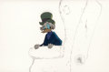 Animation Art:Production Cel, Mickey's Christmas Carol Scrooge McDuck Production Cel (WaltDisney, 1983)....